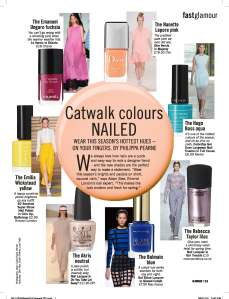 Catwalk Colours Nailed